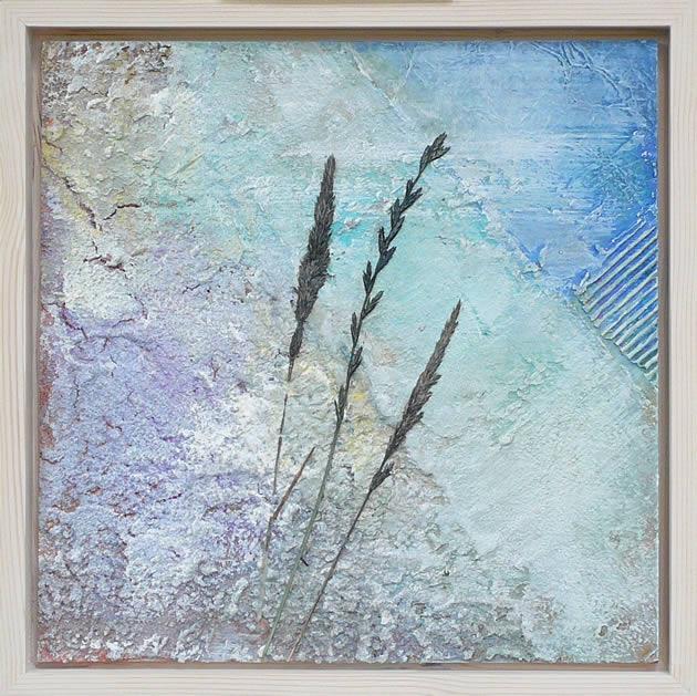 Materie Lente - mixed media acryl op mdf